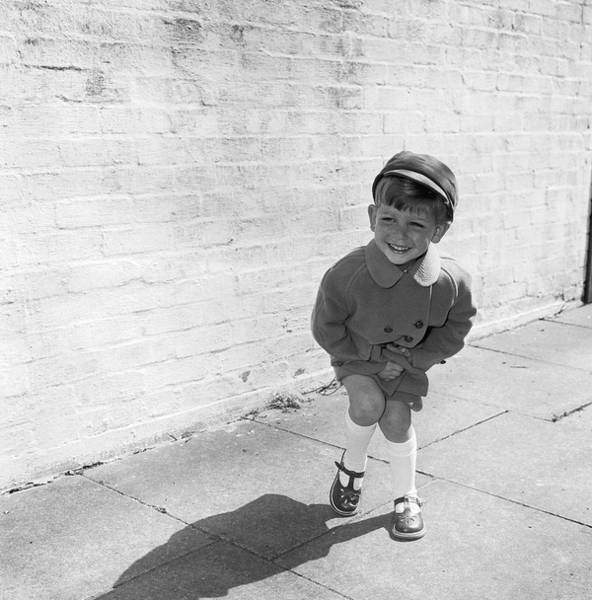 2 Photograph - Wee Kiddie by Chaloner Woods