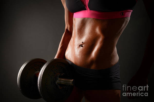 Wall Art - Photograph - Weights And Abs by Jt PhotoDesign