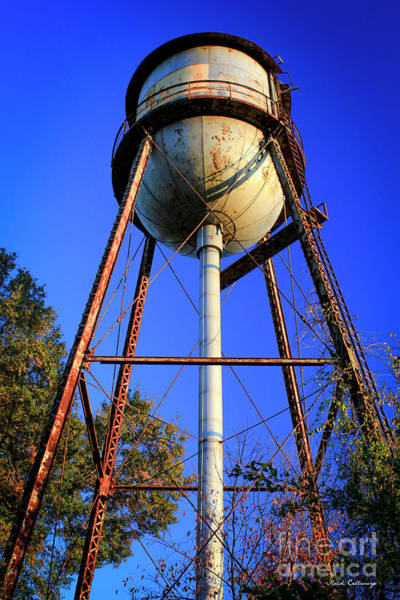 Photograph - Weighty Water Cotton Mill  Water Tower Art by Reid Callaway