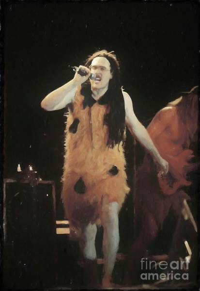 Weird Al Yankovic Painting -  Weird Al Yankovic Painting by Concert Photos