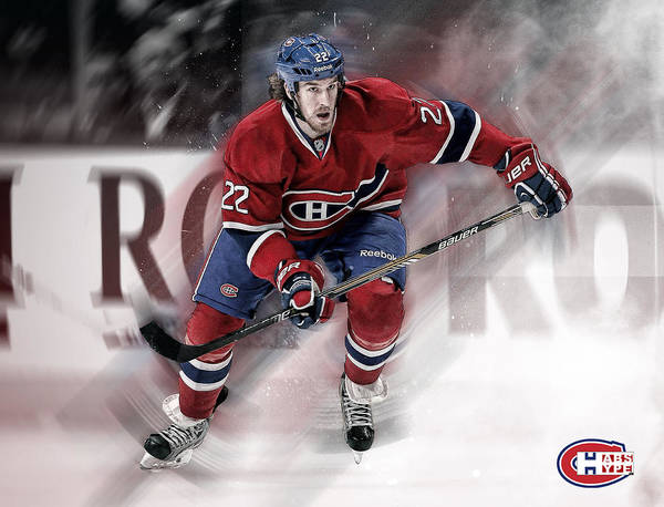 Montreal Canadiens Digital Art - Weise Poster Print by Nicholas Legault
