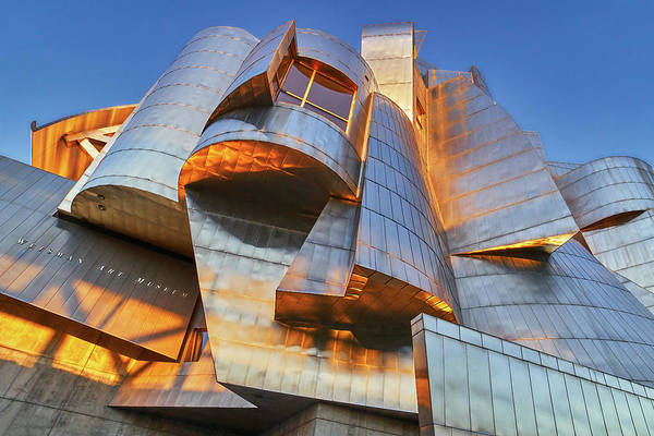Photograph - Weisman Art Museum In Minneapolis by Jim Hughes