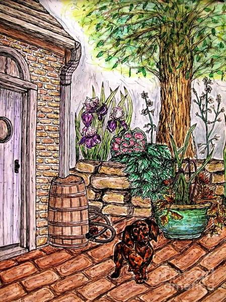 Painting - Welcome Home by Kim Jones