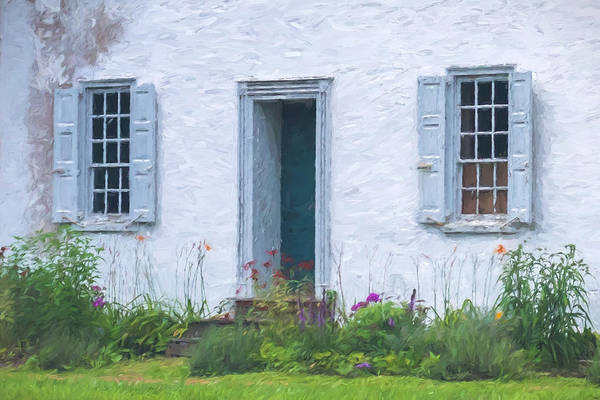 Photograph - Welcome Home Old Door And Windows by Terry DeLuco
