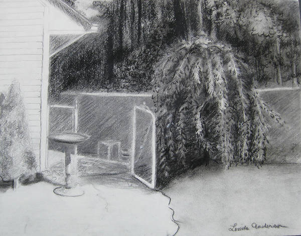 Drawing - Welcome by Linda Anderson