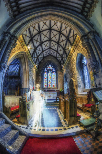Welsh Church Photograph - Welcome My Children by Ian Mitchell