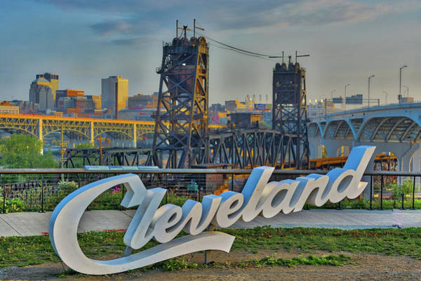 Photograph - Welcome To Cleveland by Stewart Helberg