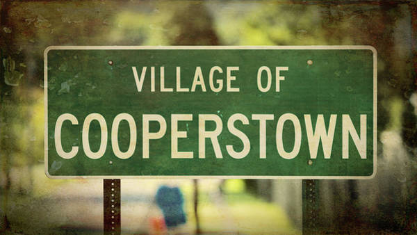 Wall Art - Photograph - Welcome To Cooperstown by Stephen Stookey