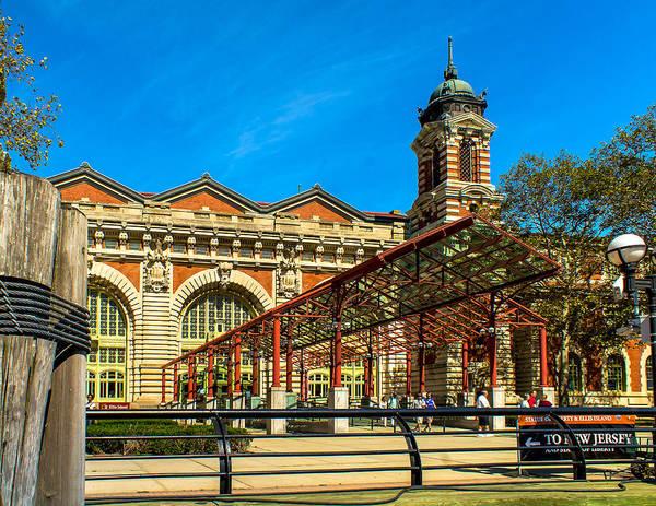Photograph - Welcome To Ellis Island by Nick Zelinsky
