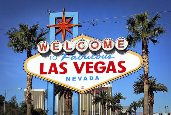 Wall Art - Photograph - Welcome To Fabulous Las Vegas by Daniel Hagerman