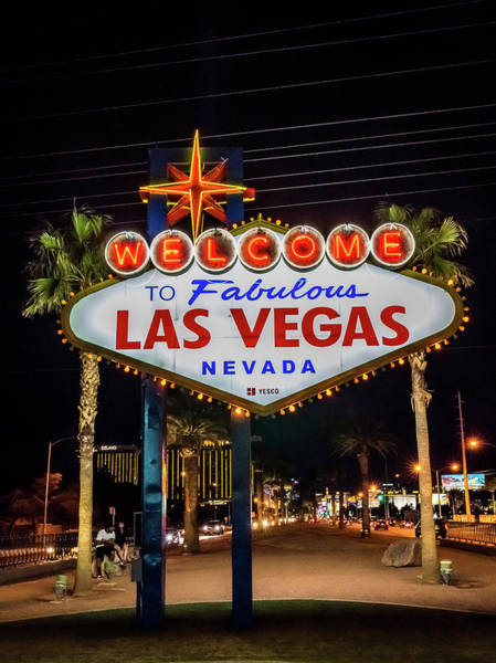 Photograph - Welcome To Fabulous Las Vegas by Framing Places
