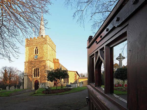 Photograph - Welcome To Gt St Mary's Church Sawbridgeworth by Gill Billington