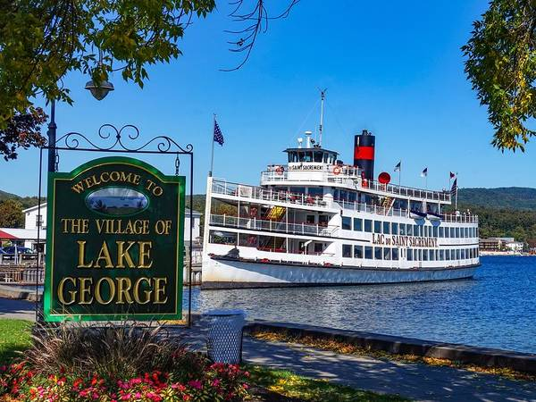 Photograph - Welcome To Lake George by Kendall McKernon