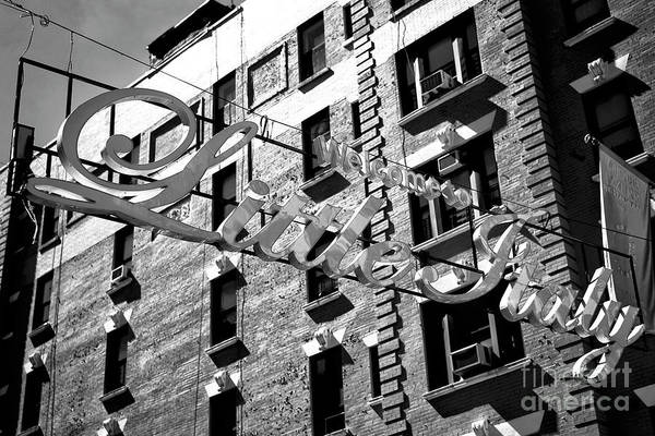 Photograph - Welcome To Little Italy by John Rizzuto