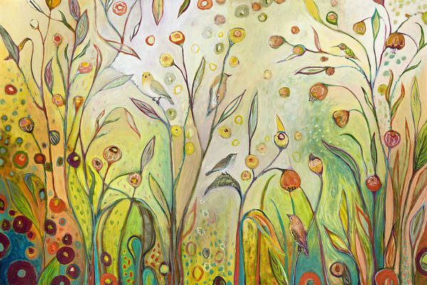 Landscape Wall Art - Painting - Welcome To My Garden by Jennifer Lommers