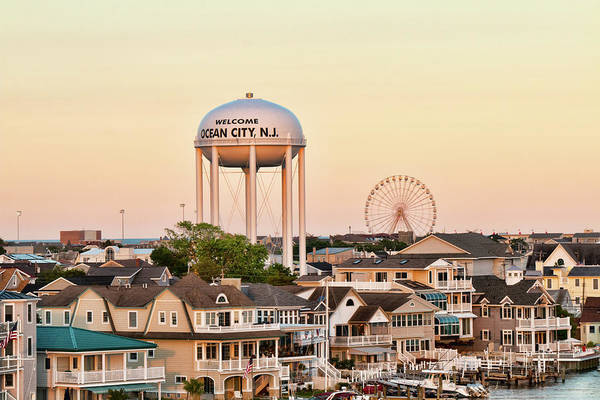 Photograph - Welcome To Ocean City, Nj by Kristia Adams