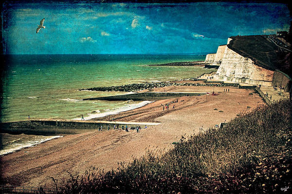 Photograph - Welcome To Saltdean An Imaginary Postcard by Chris Lord