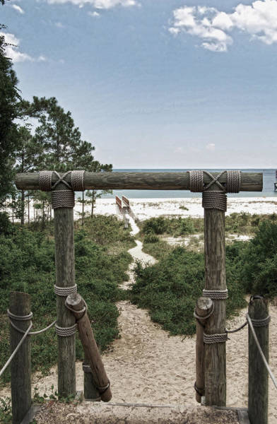 Photograph - Welcome To The Beach by Judy Hall-Folde