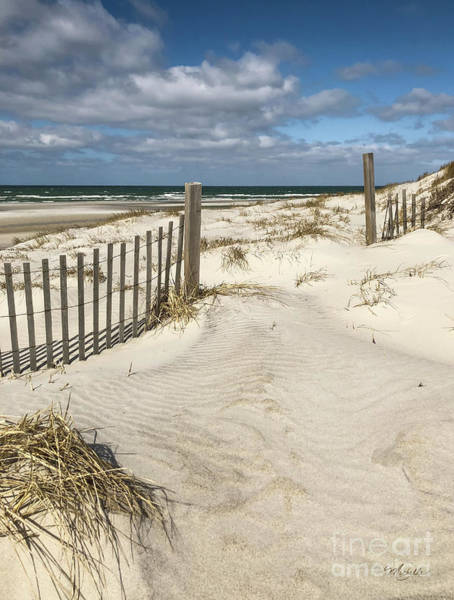 Photograph - Welcome To The Beach by Michelle Constantine