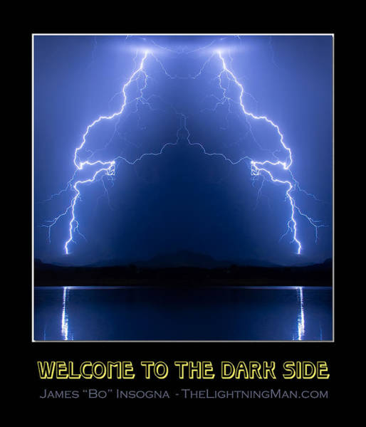 Photograph - Welcome To The Dark Side by James BO Insogna
