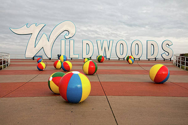 Welcome To The Wildwoods Art Print