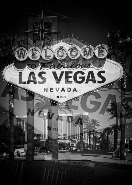 Wall Art - Photograph - Welcome To Vegas Xiv by Ricky Barnard