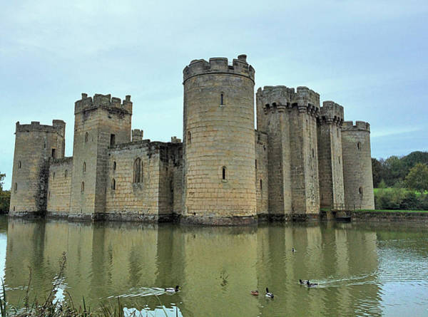 Bodiam Photograph - Welcome To 14th-century Castle  by Vicky Adams
