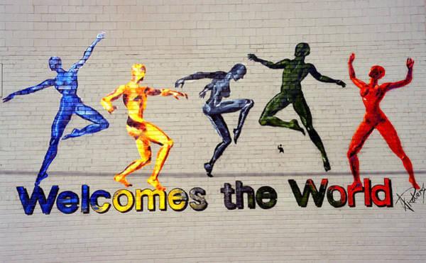 Welcomes The World Mural Art Print