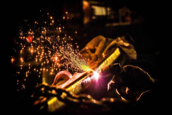 James Craddock Photograph - Welding Show by James Craddock