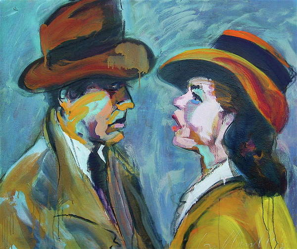 Painting - We'll Always Have Paris by Les Leffingwell