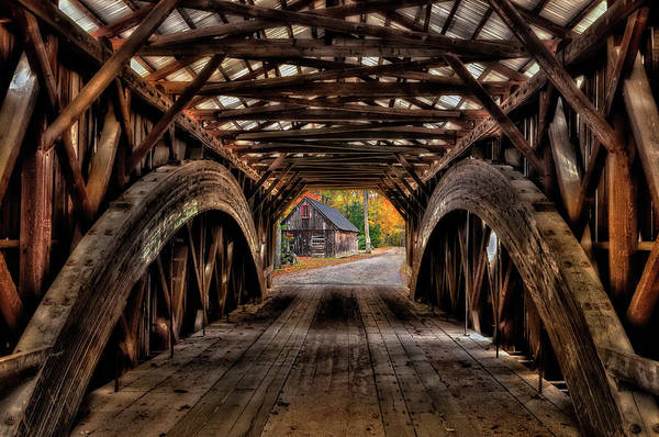 Wall Art - Photograph - We'll Cross That Bridge by T-S Fine Art Landscape Photography