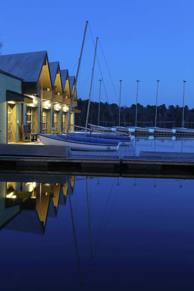 Photograph - Wellesley College Boathouse by Juergen Roth