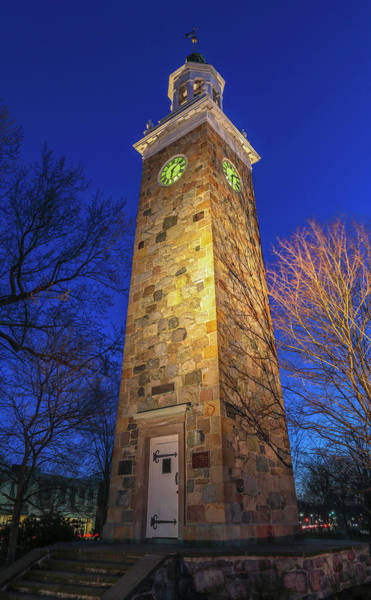 Photograph - Wellesley Hills Isaac Sprague Memorial Tower by Juergen Roth