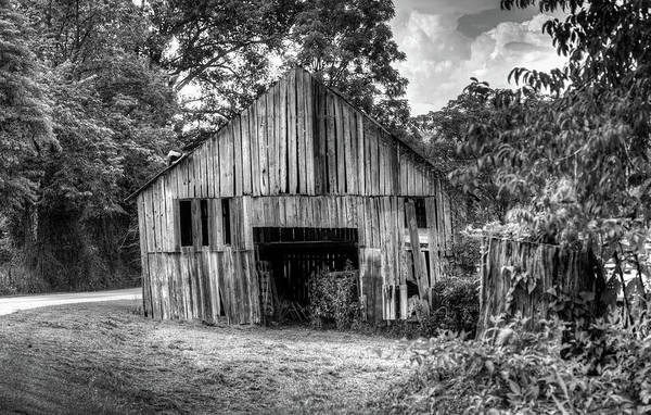 Douglas County Wall Art - Photograph - Wells Barn 5 by Douglas Barnett