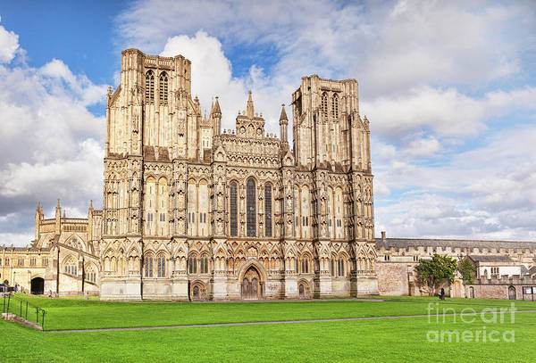 Wall Art - Photograph - Wells Cathdral by Colin and Linda McKie
