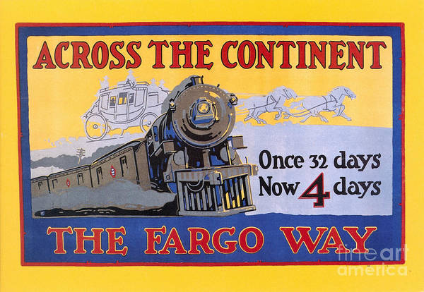 Photograph - Wells Fargo Express 1915 by Granger