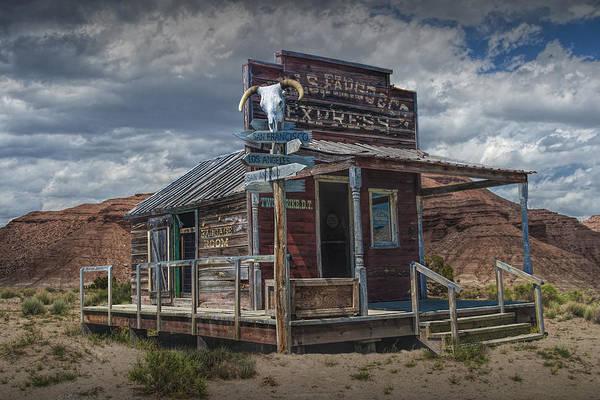 Photograph - Wells Fargo Express Office Depot by Randall Nyhof