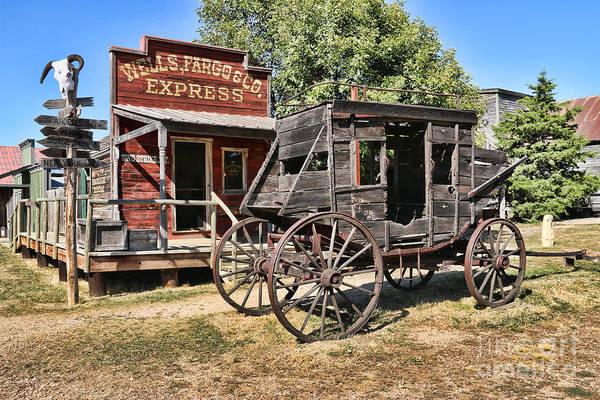 Stagecoach Photograph - Wells Fargo Stagecoach 8296 by Jack Schultz