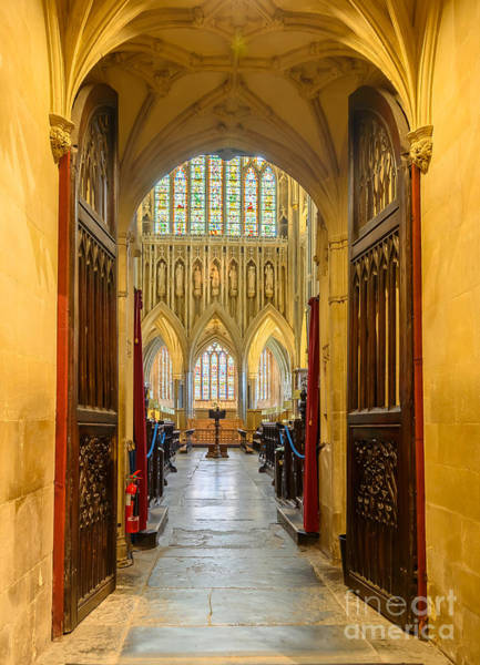 Photograph - Wellscathedral, The Quire by Colin Rayner
