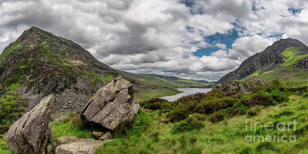 Photograph - Welsh Mountains Of Snowdonia by Adrian Evans