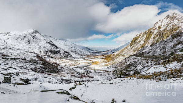 Photograph - Welsh Valley Snowfall by Adrian Evans