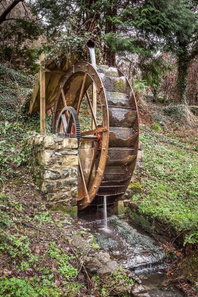 Christine Falls Photograph - Welsh Waterwheel by Christine Smart
