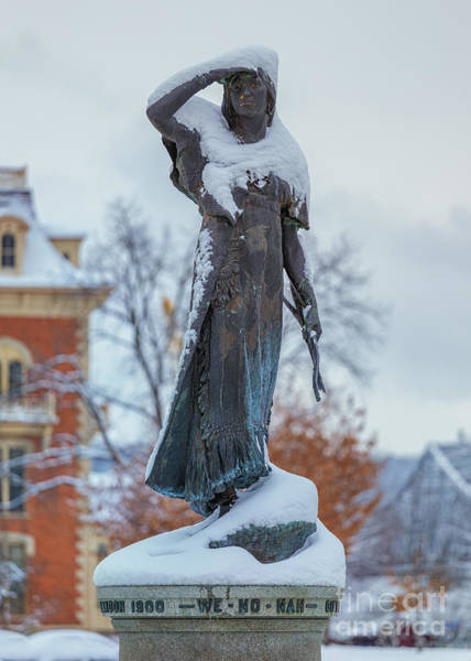 Photograph - Wenonah With Cloak Of Snow by Kari Yearous