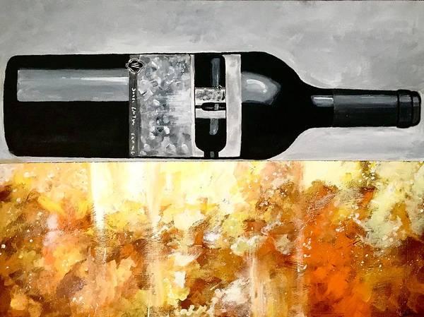 Painting - Wente Sonata by Joel Tesch