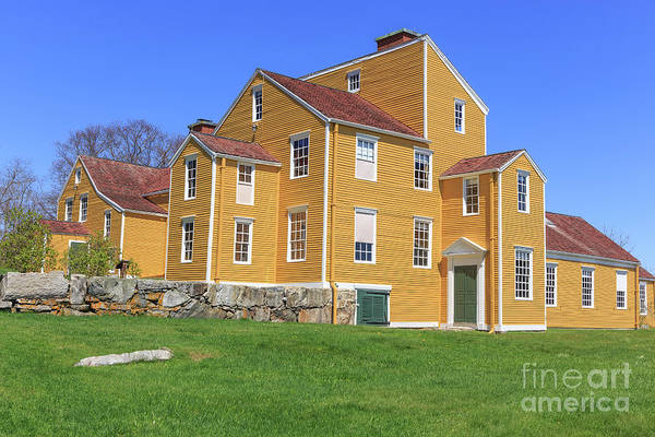 Dwelling Photograph - Wentworth Coolidge Mansion by Edward Fielding