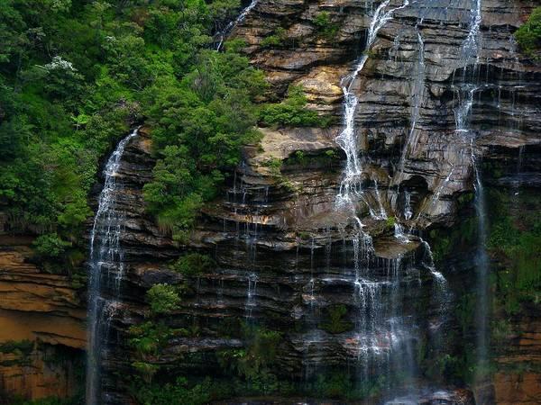 Wall Art - Photograph - Wentworth Falls by Nancy Morrison