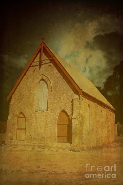 Photograph - Wesley Church, Greenough, Western Australia by Elaine Teague