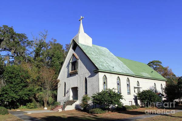 Photograph - Wesley Oak United Methodist Church by Jennifer Robin