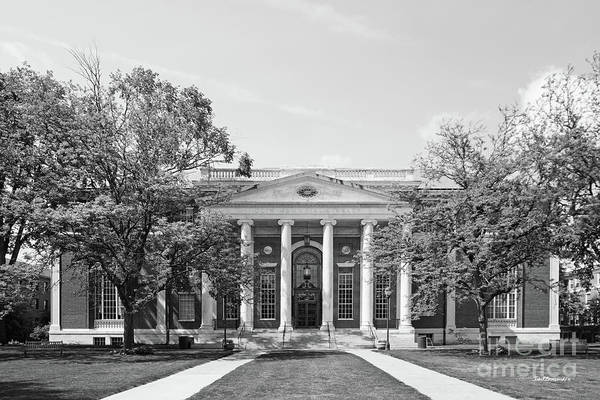 Photograph - Wesleyan University Olin Library by University Icons