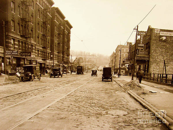 Photograph - West 207th Street, 1928 by Cole Thompson